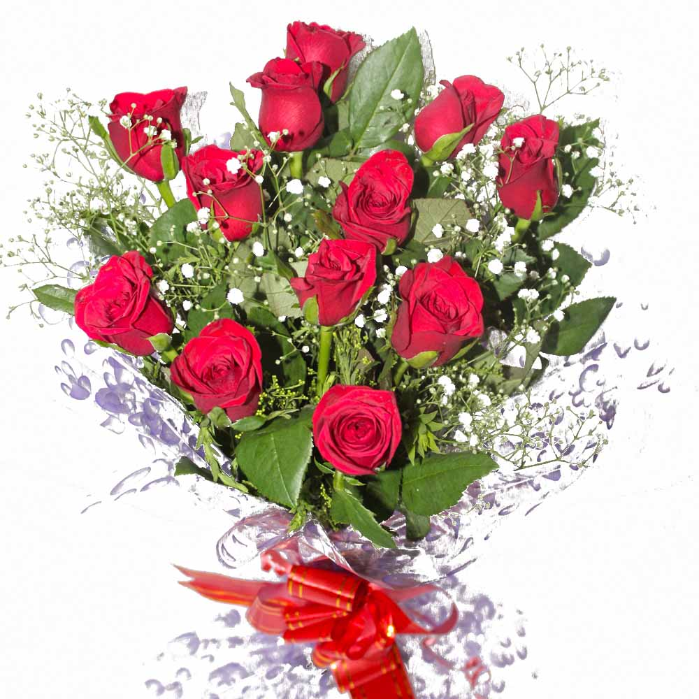 Red Roses-Anniversary Special Bouquet