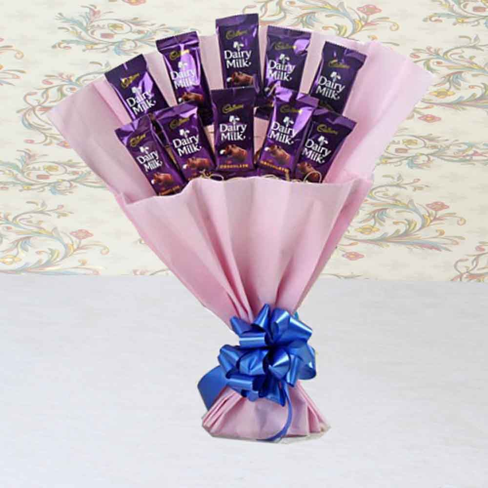 Loving Gesture Dairy Milk Bouquet