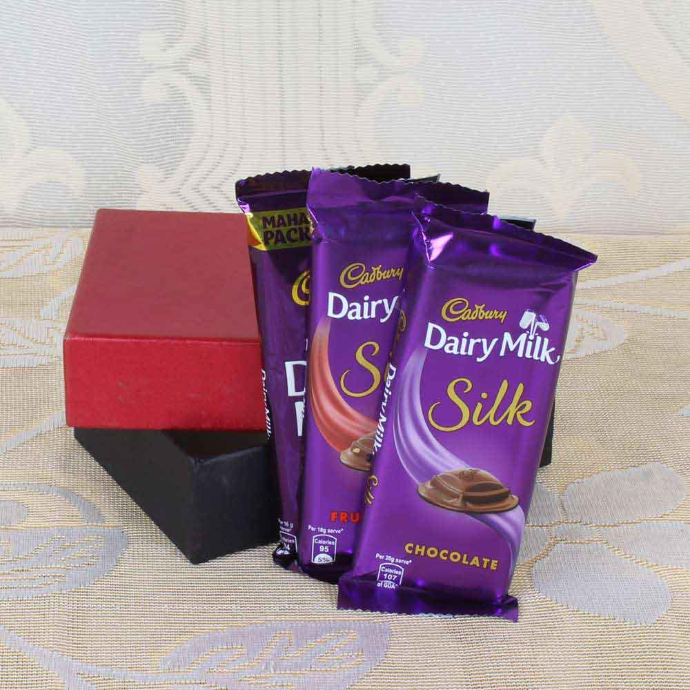 Cadbury's-Express Delivery of Cadbury Dairy Milk Silk Chocolates in Box