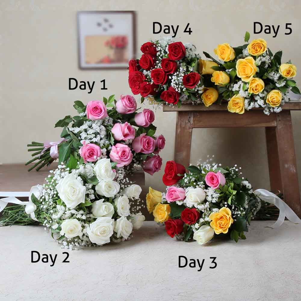 Bouquet of Five Day Delivery