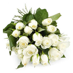 White Roses Bunch India