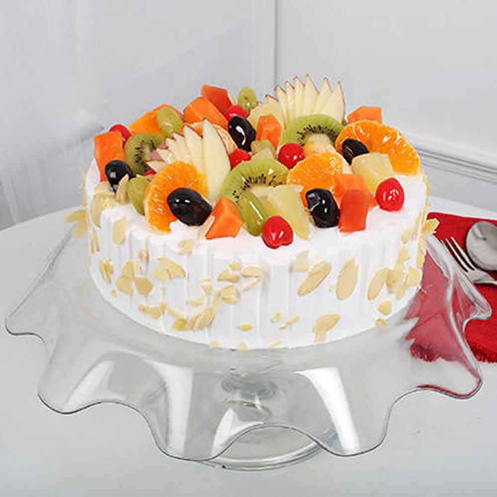 All India Cakes-Creamy Vanilla Fruit Cake