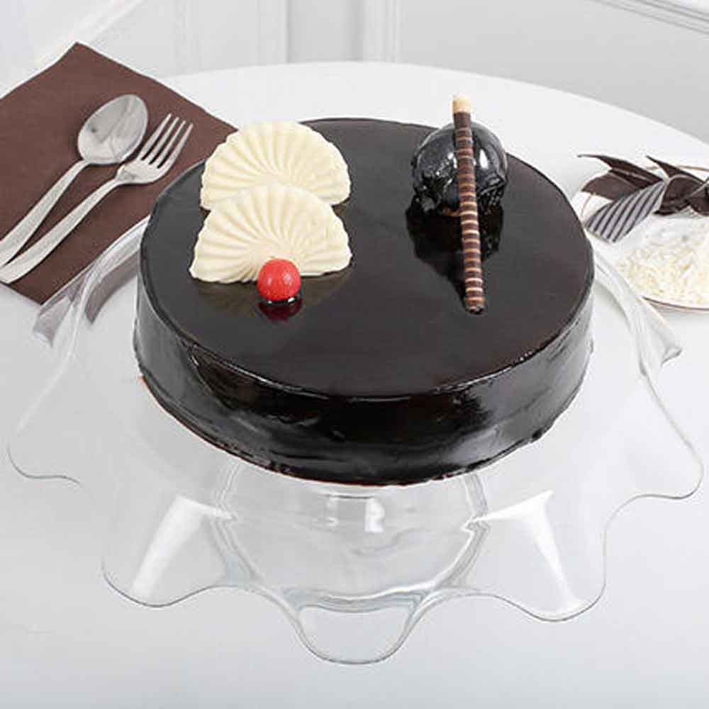 Exotic Chocolate Cream Cake