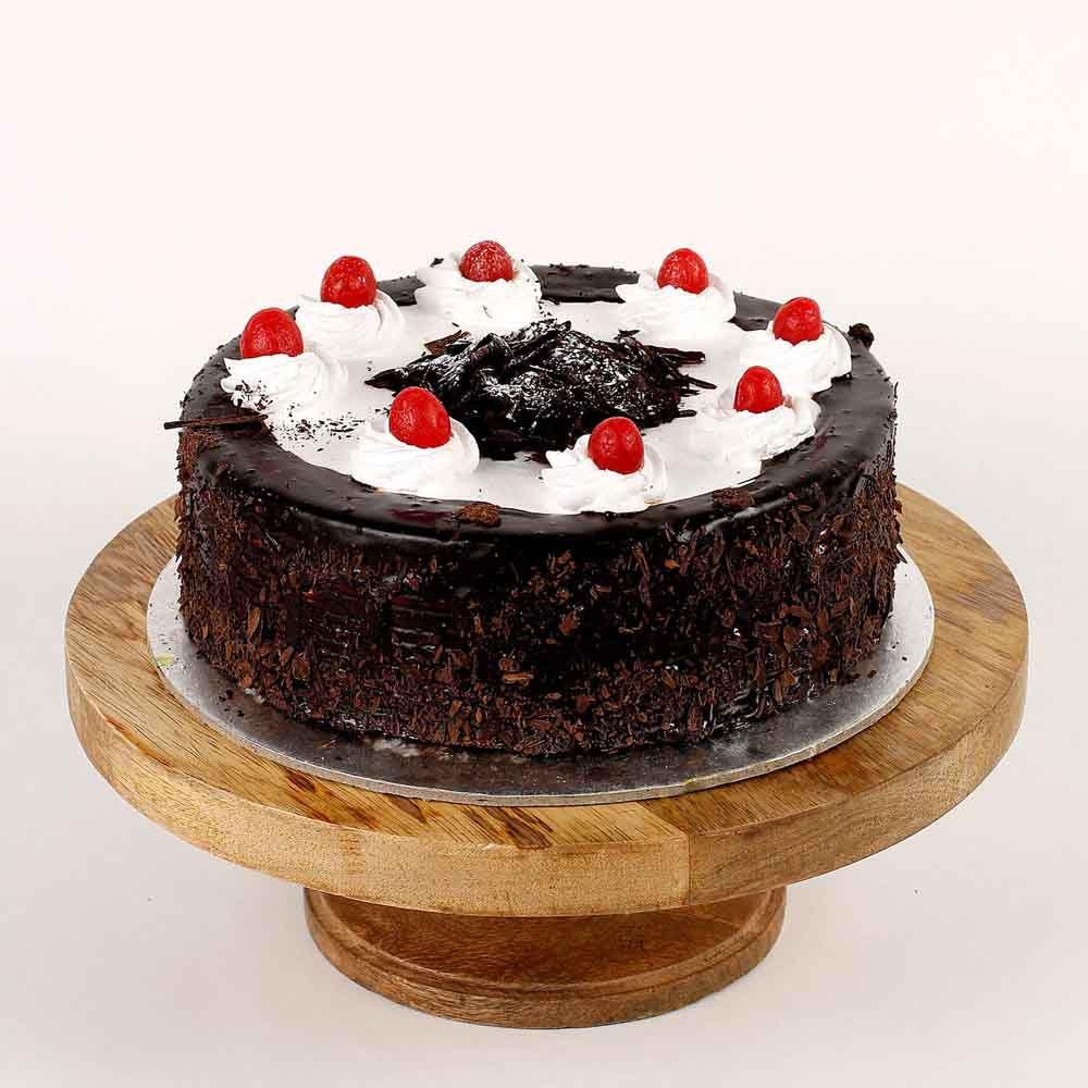 Cream Drop & Cherry Black Forest Cake