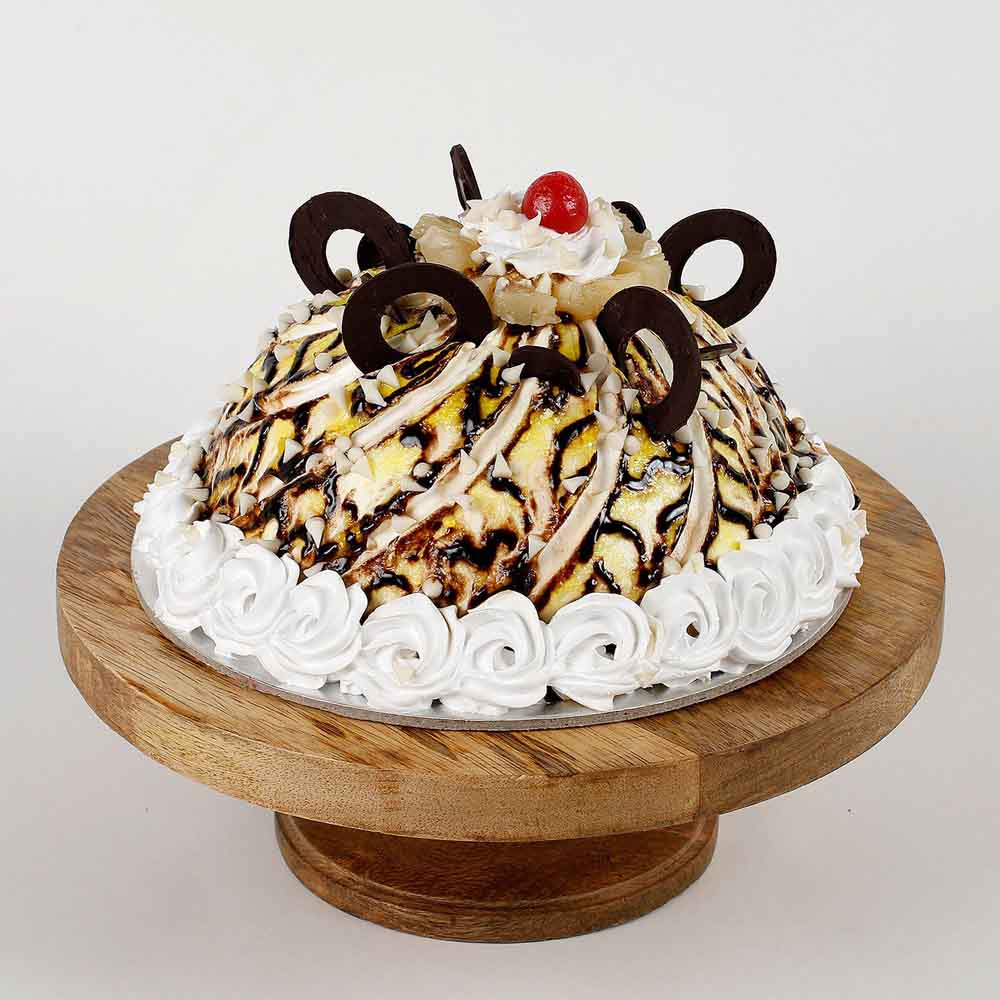 Dome Shaped Choco Coin Cake