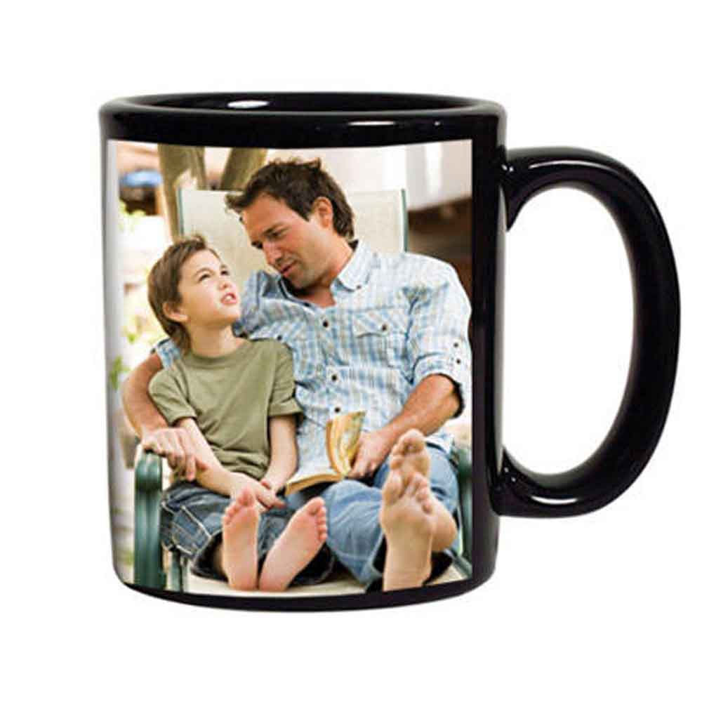 Mugs-Black Personalized Coffee Mug