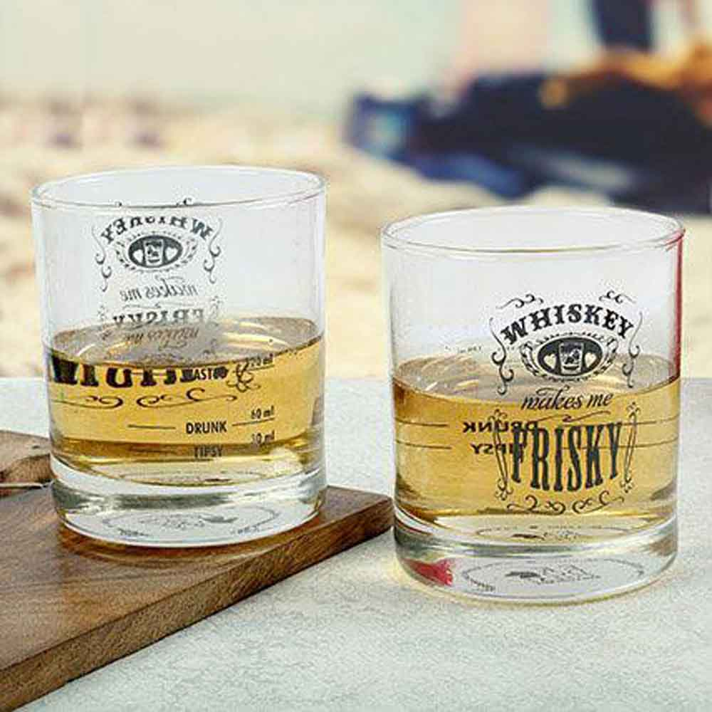 Frisky Whiskey Glasses