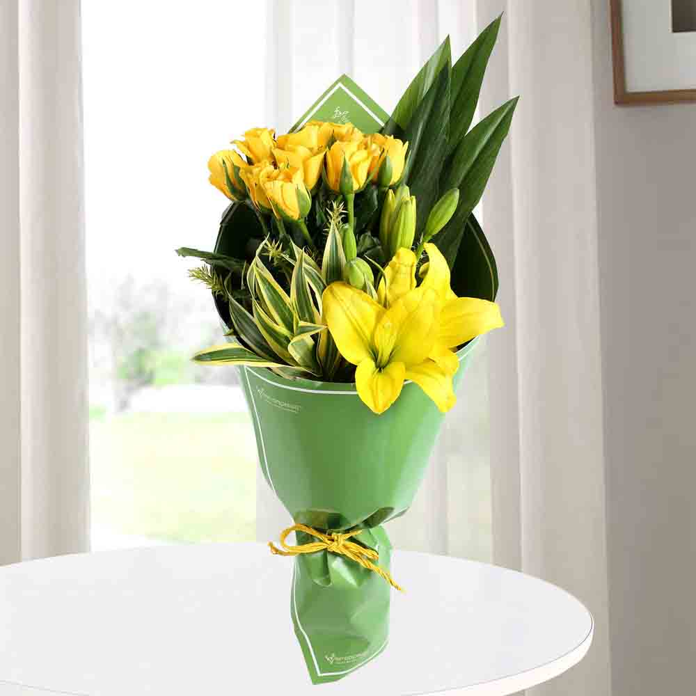 Designer Arrangements-Happiness Hand Tied Bouquet