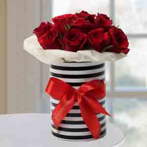 Designer Arrangements-Graceful Roses Arrangement