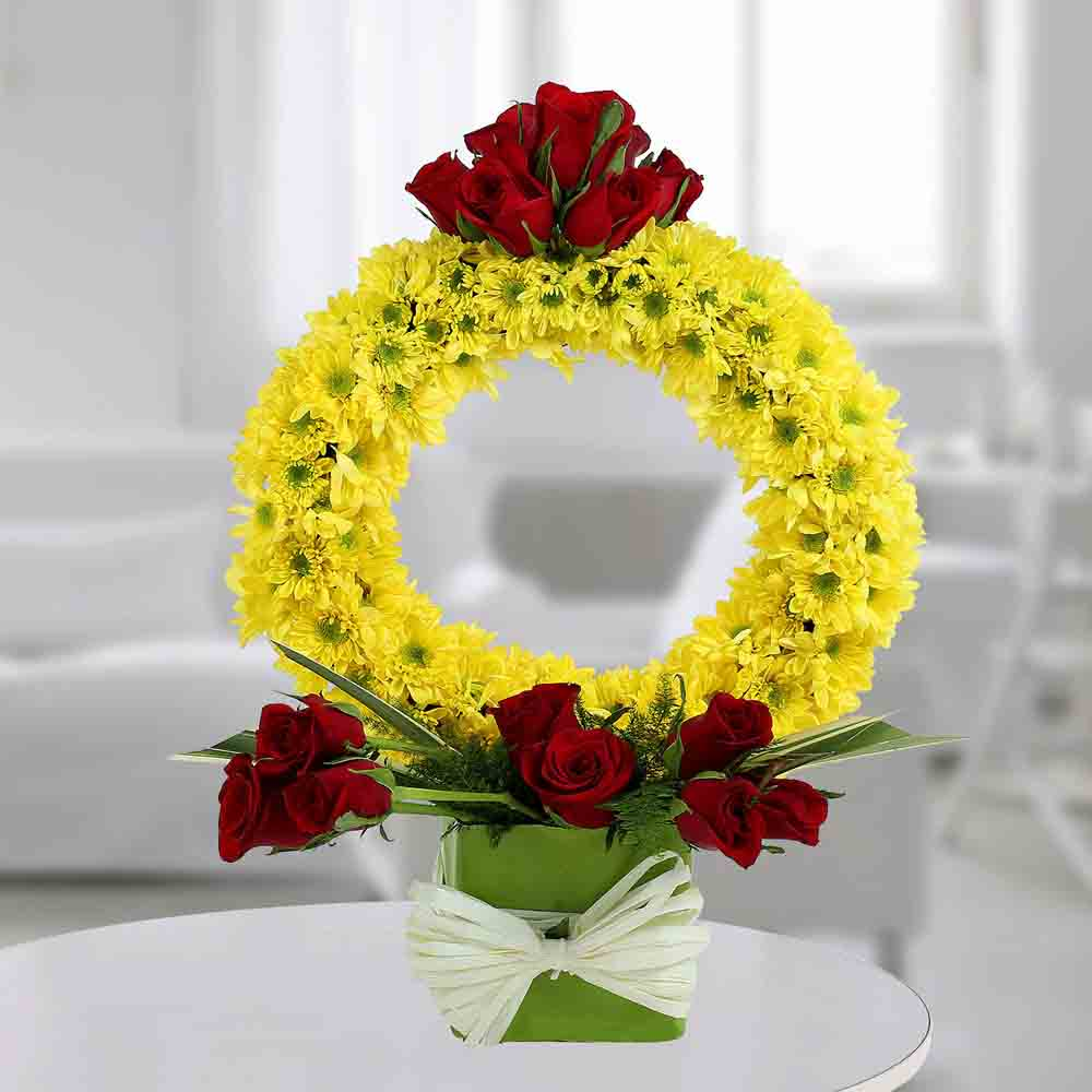 Floral Ring Shape Arrangement