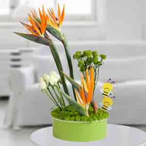 Designer Arrangements-Dazzling Flowers Arrangement