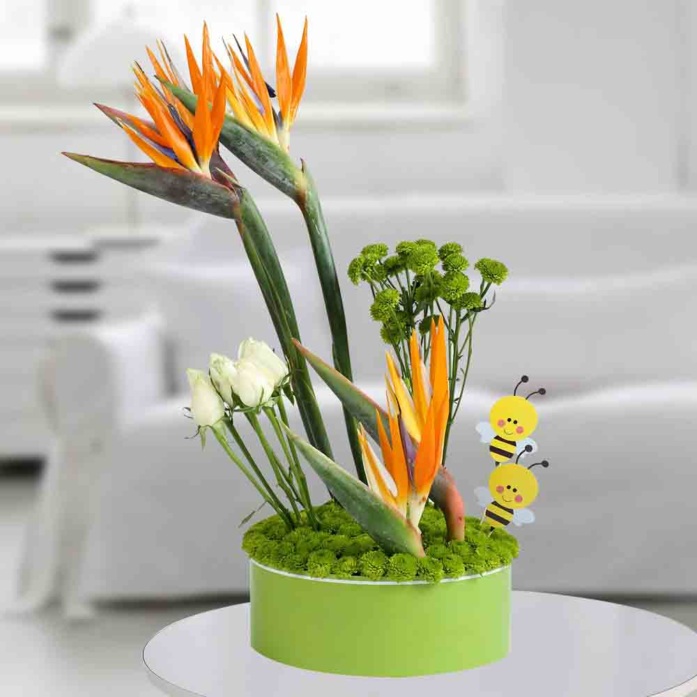 Dazzling Flowers Arrangement