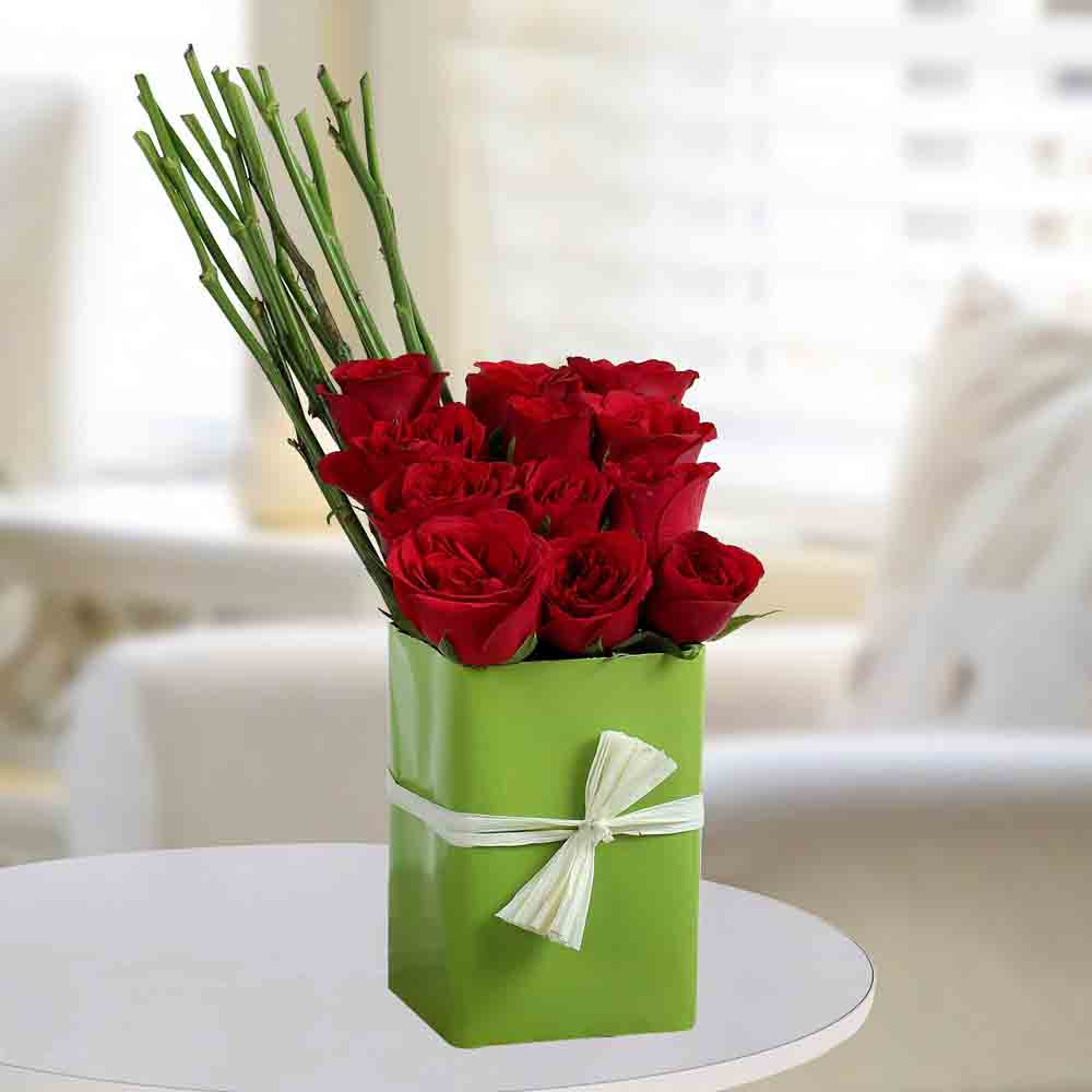 Sweet Red Rose Arrangement
