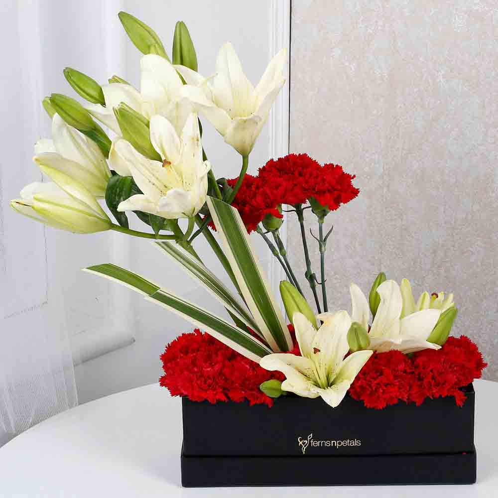 Enchanting Lilies N Carnations