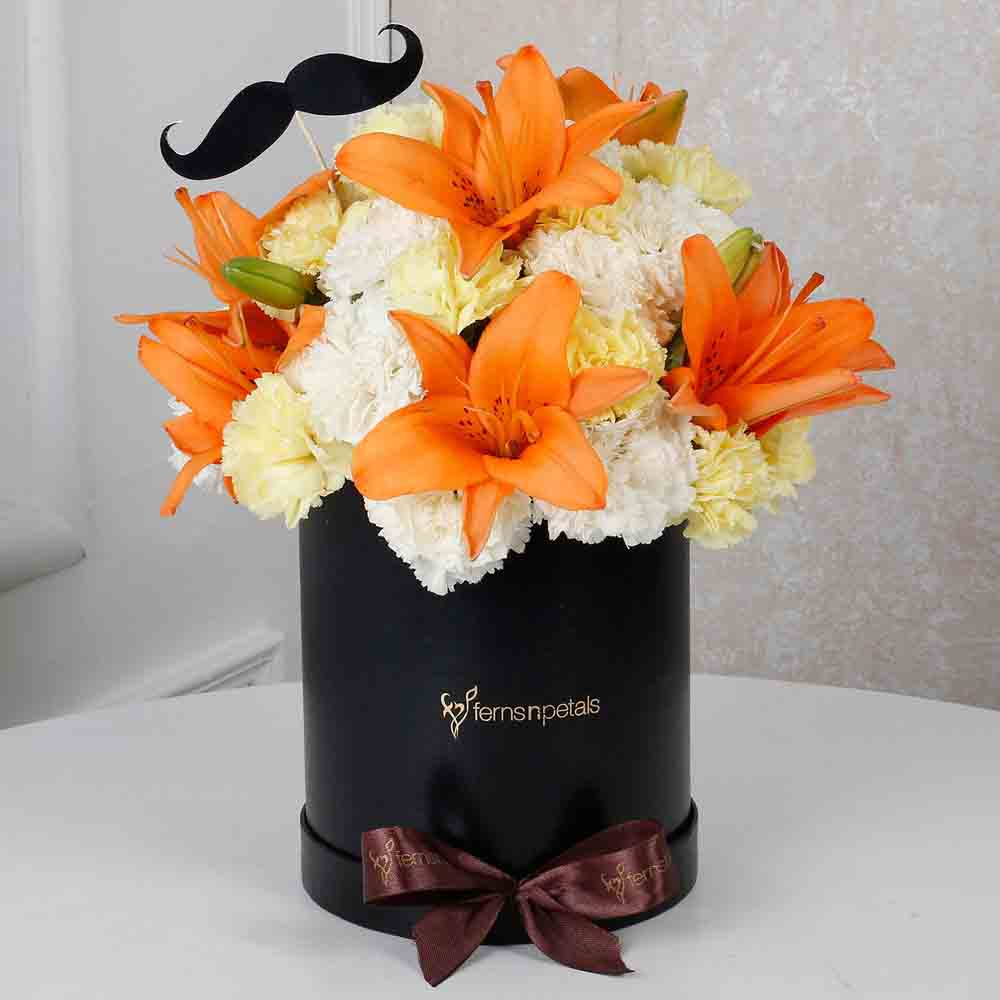Sunny Floral Delight for Him