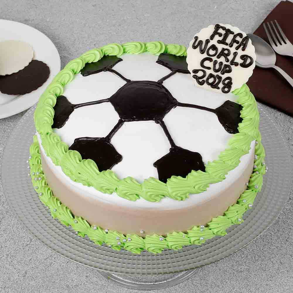 FIFA Special Birthday Cake Half kg Eggless