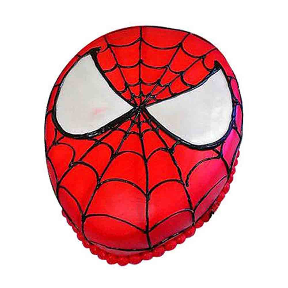 Gift Rocking Spiderman Cake 1kg Chocolate Eggless on Same Day