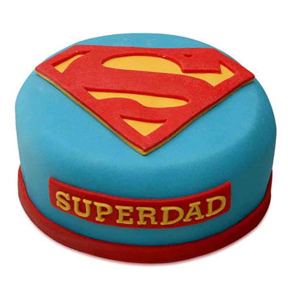 Yummy Super Dad Special Cake 1kg Chocolate
