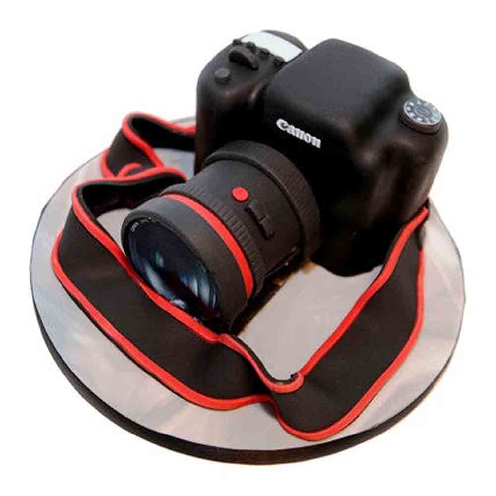 Gift Camera Cake 2kg on Same Day