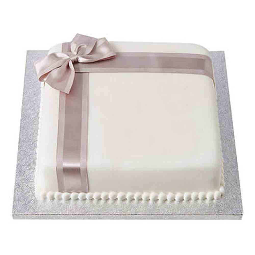 25th Year Fondant Cake Chocolate 1kg
