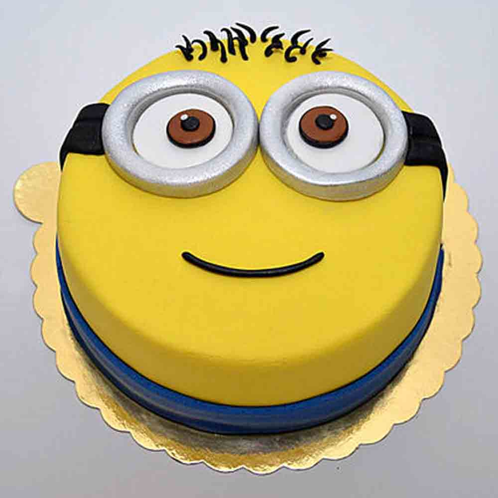 Minion for you Cake 1kg Vanilla Eggless