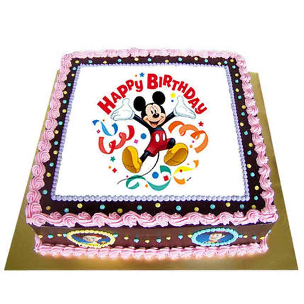 Special Photo Cake 2kg Eggless