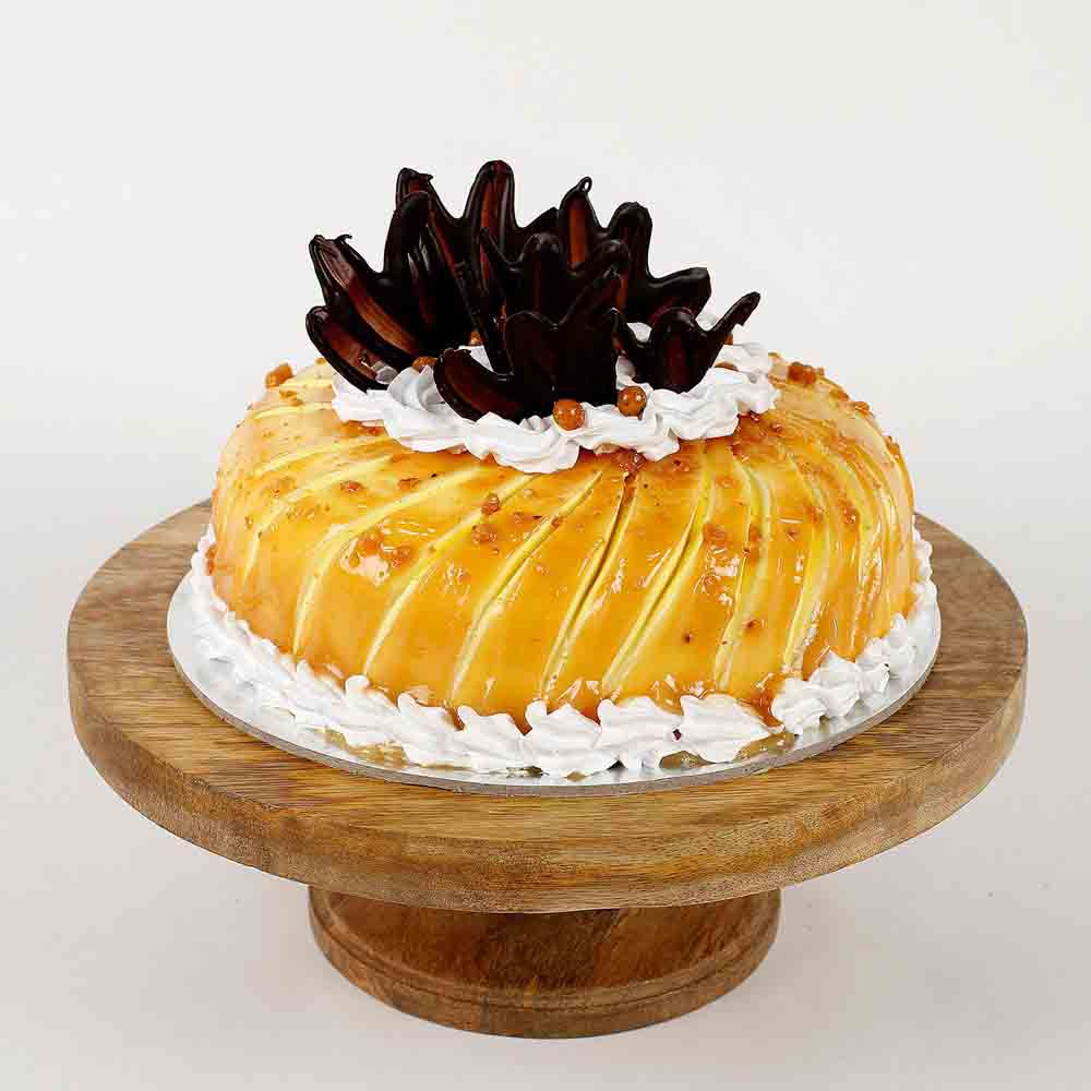 Glaze Cream Pineapple Cake- Half Kg