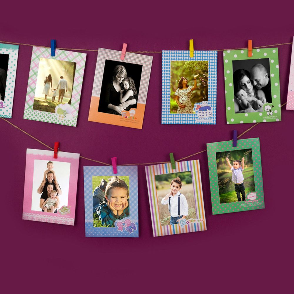 Online Set Of Colorfull Photo Frames