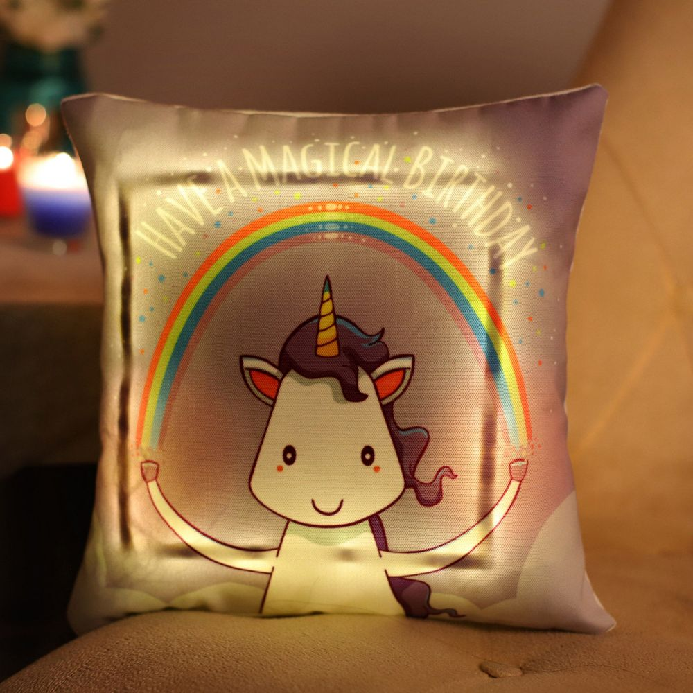 Buy Unicorn LED Pillow
