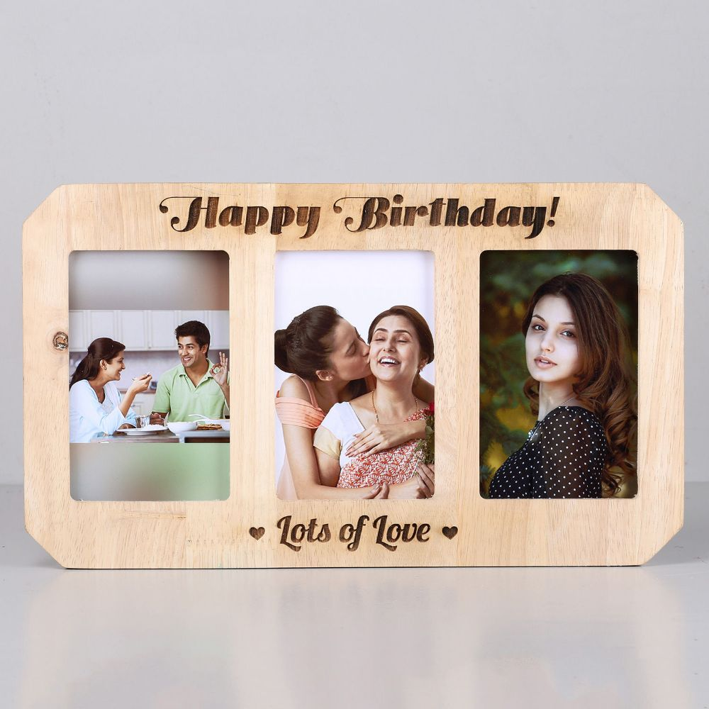 Online Customised Personalised Wooden photo frame