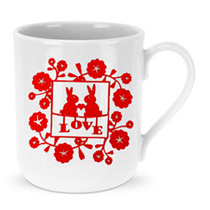 Mugs-Red Love Mug