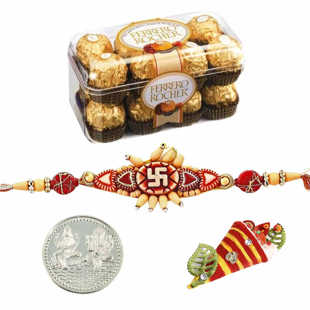 Chocolates-Ferrero Rocher 5 Pieces Boxed Chocolates Rakhi Special