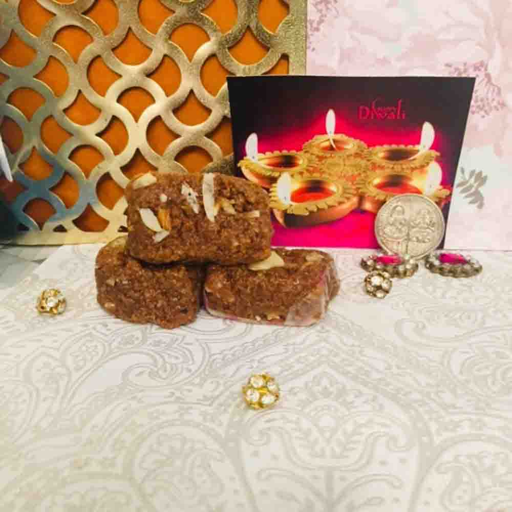 Diwali Shagun with Haldiram Dodha Burfee 340 grams