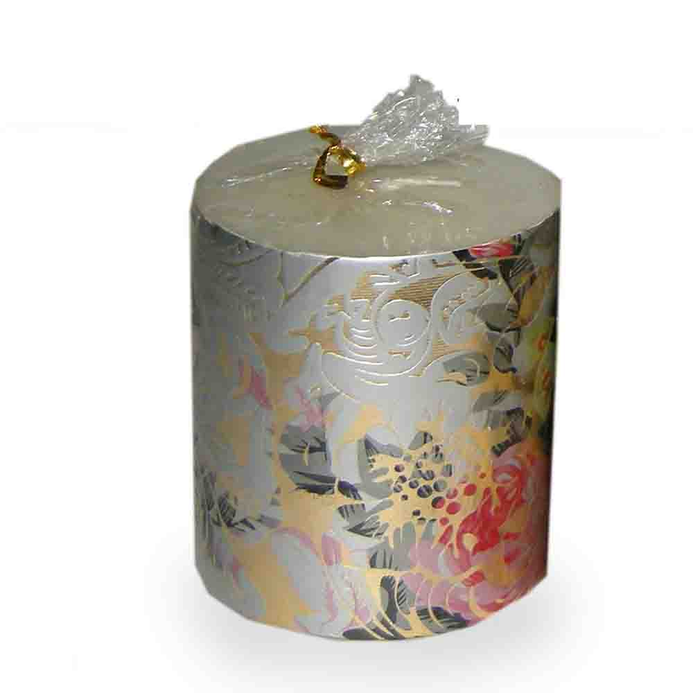Festive design Pillar Candle