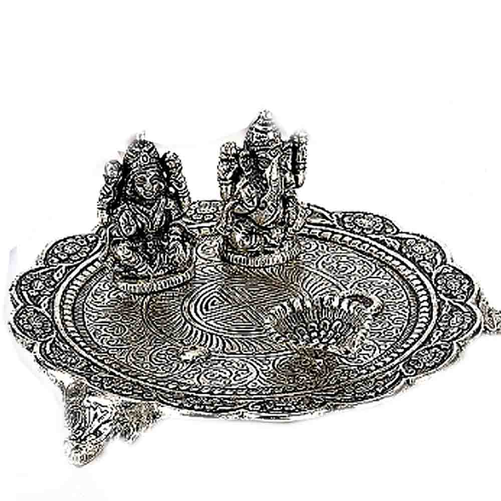 Antique Finish Pooja Thali