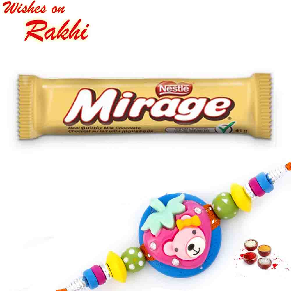 Nestle Mirage Bubbly Milk Chocolate with Bhaiya Rakhi