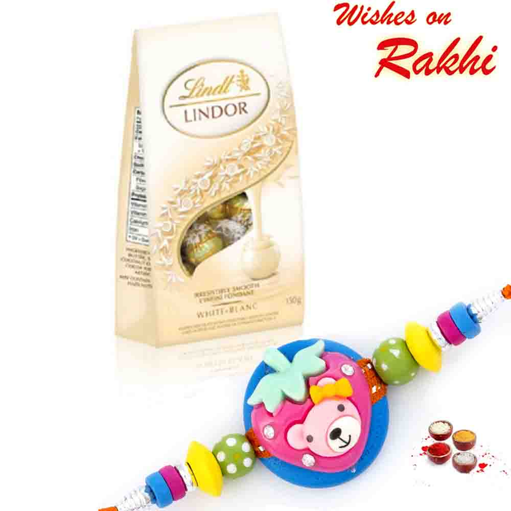 Lindt Lindor Milk Chocolate with Bhaiya Rakhi