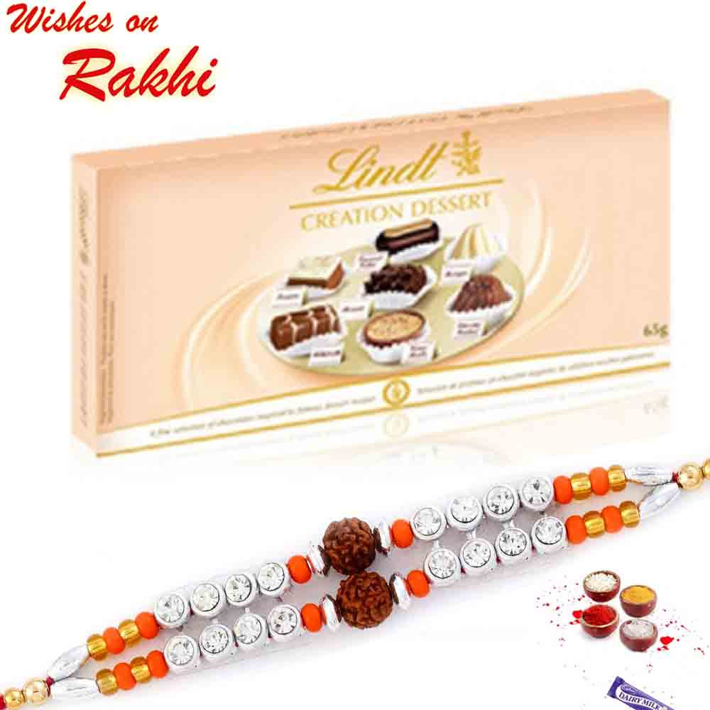 Lindt Creation Dessert with Bhaiya Rakhi
