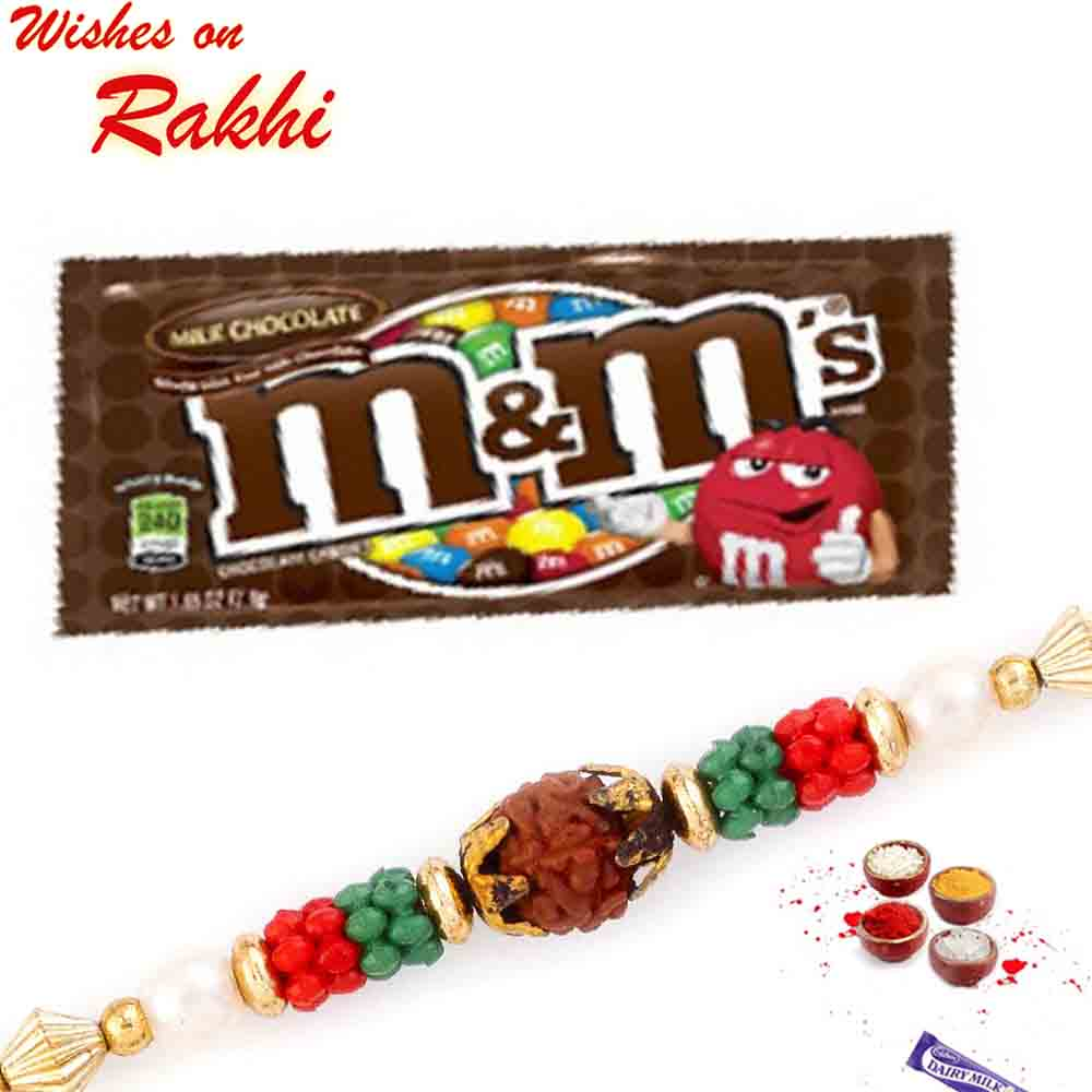 M&M Milk Chocolate with Bhaiya Rakhi