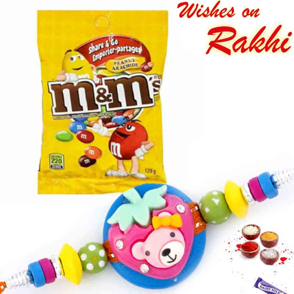 M&M Peanut Arachide Chocolate with Bhaiya Rakhi