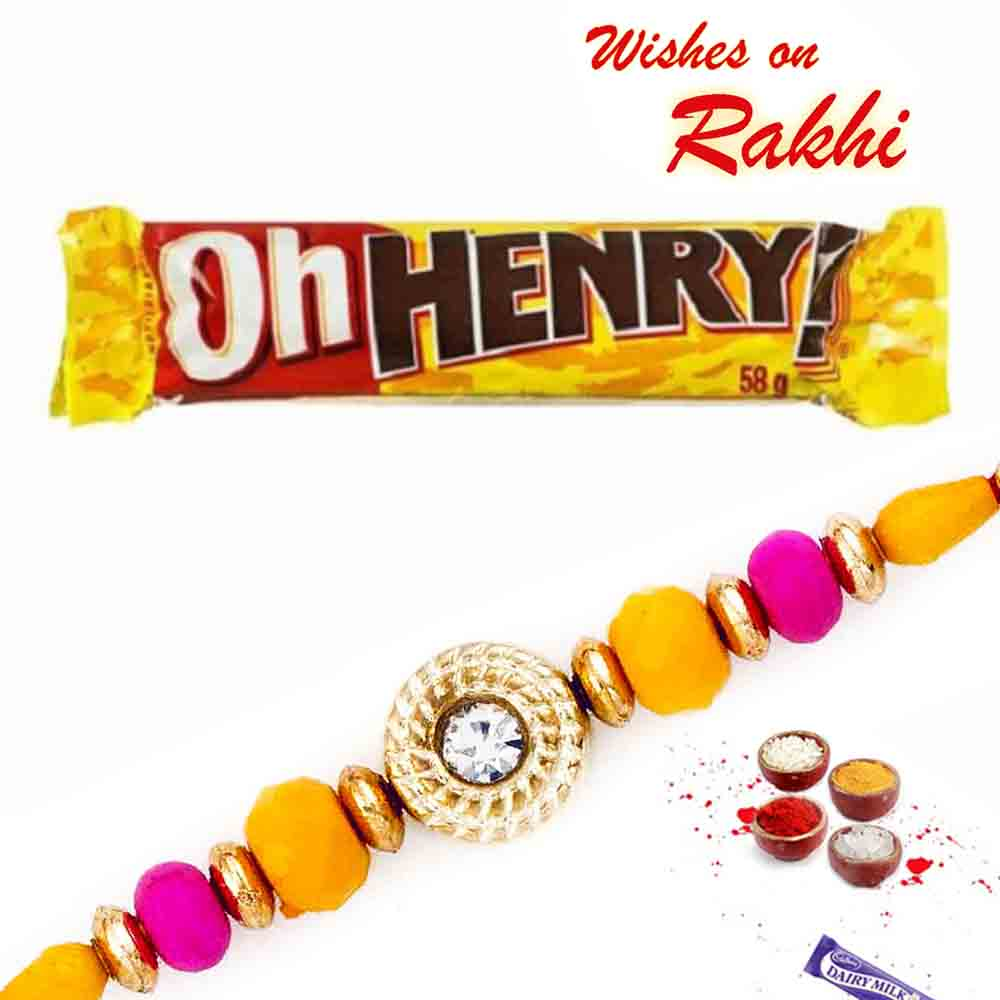 Oh Henry Chocolate Pack with Bhaiya Rakhi