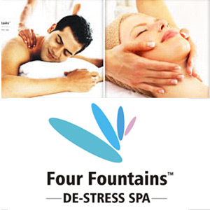 Health & Beauty Gift Vouchers-Four Fountains De-stress Spa Gift Voucher
