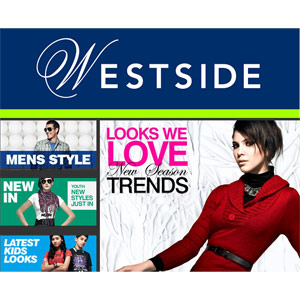 Departmental Stores Gift Vouchers-Westside Gift Card