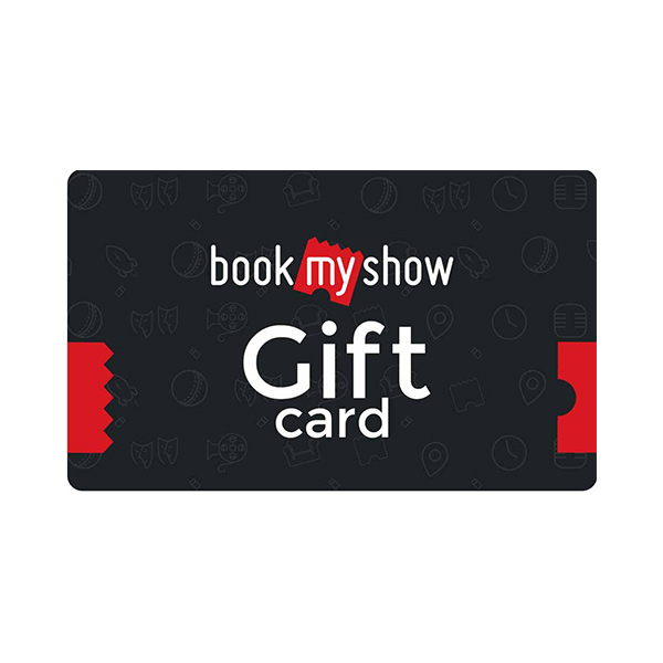 Departmental Stores Gift Vouchers-Book My Show Voucher INR 2000