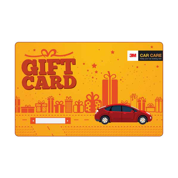 Departmental Stores Gift Vouchers-3M Car Care Voucher INR 2000