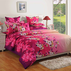 Bedsheets-Swayam Multicolour Colour Bed Sheet with Pillow Covers