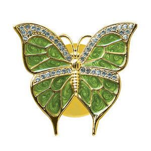 Birds-24K Gold Plated Suncatchers Butterfly Studded with Swarovski Crystals