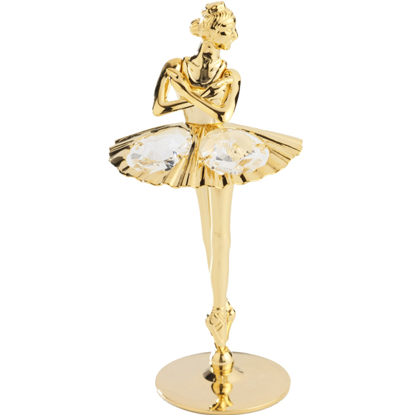 24K Gold Plated Ballerina (Dancing)