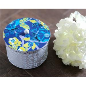 Table Accessories-Multi Purposes Box - Blue Yellow