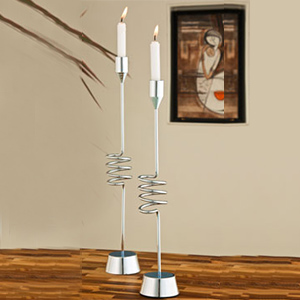 Wired Candle Holder